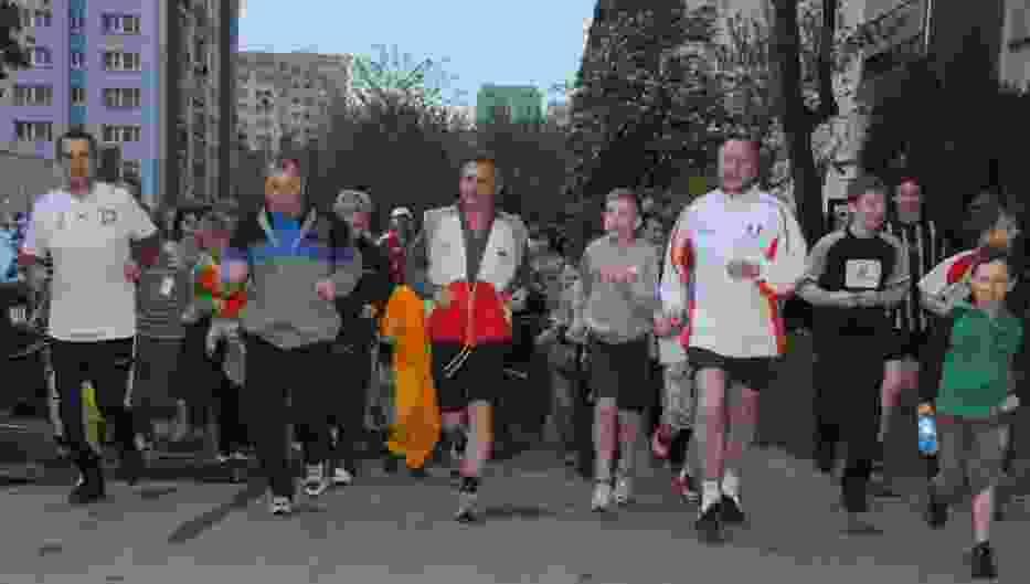 W biegu wzięli udział młodsi i starsi