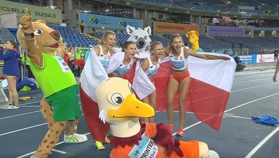 Tak uśmiechały się Polki po drugim miejscu w finale