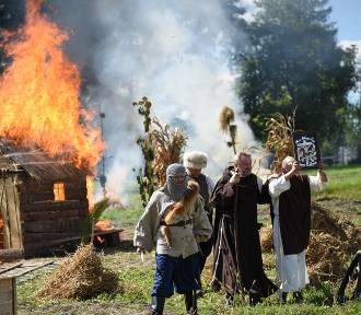 Rekonstrukcja historyczna najazdu tatarskiego na Rudołowice [WIDEO, ZDJĘCIA]