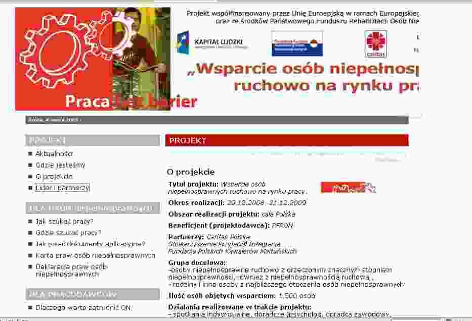 Screen strony http://www