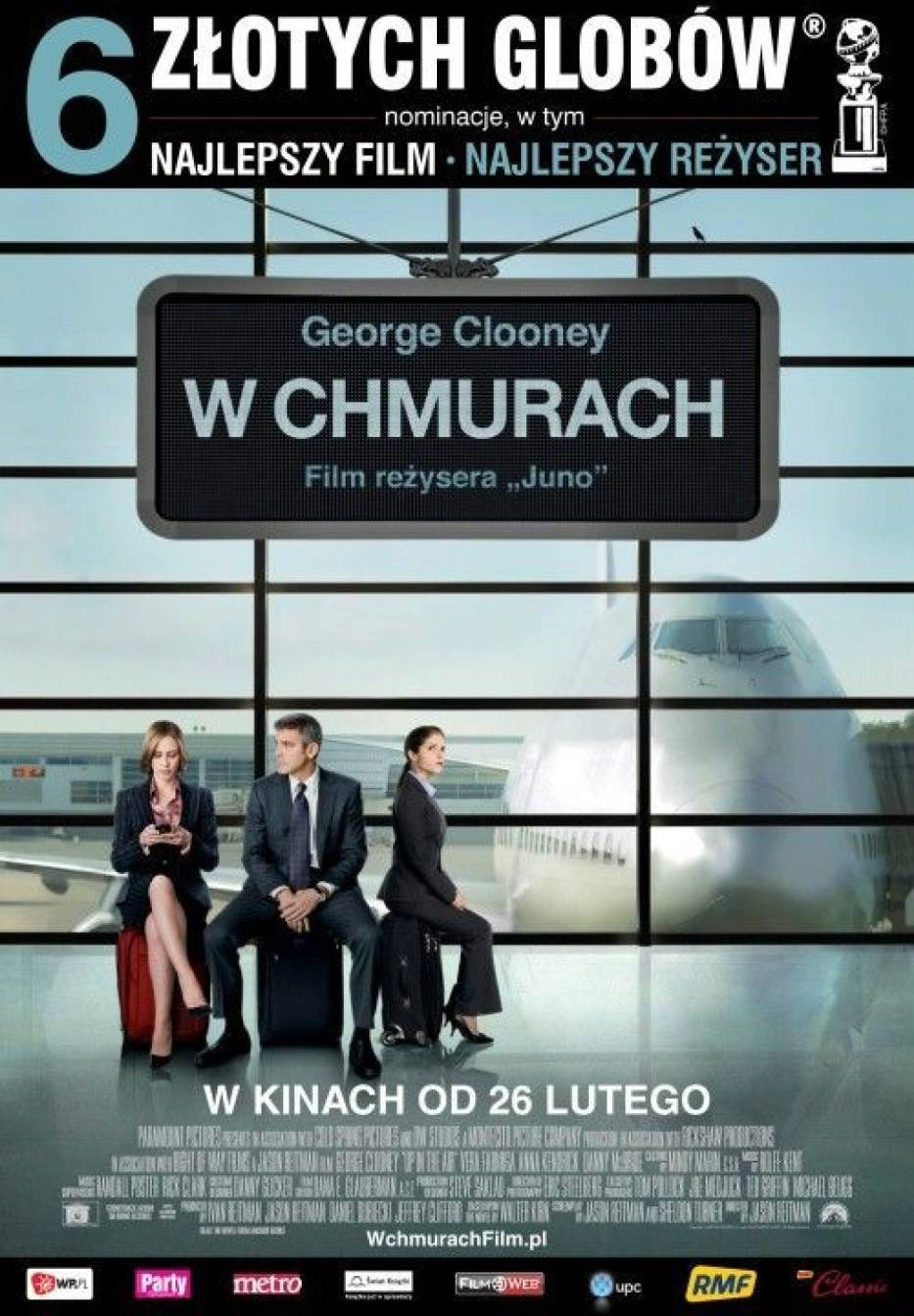 "Plakat filmu ""W chmurach"""
