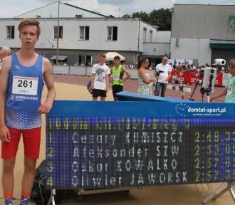 Człuchów. Finał czwartków lekkoatletycznych w Łodzi. To już trzeci złoty medal Cezarego Kumiszczy!