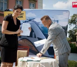 Współpraca Kolei Dolnośląskich z Zamkiem Książ w Wałbrzychu (ZDJĘCIA)