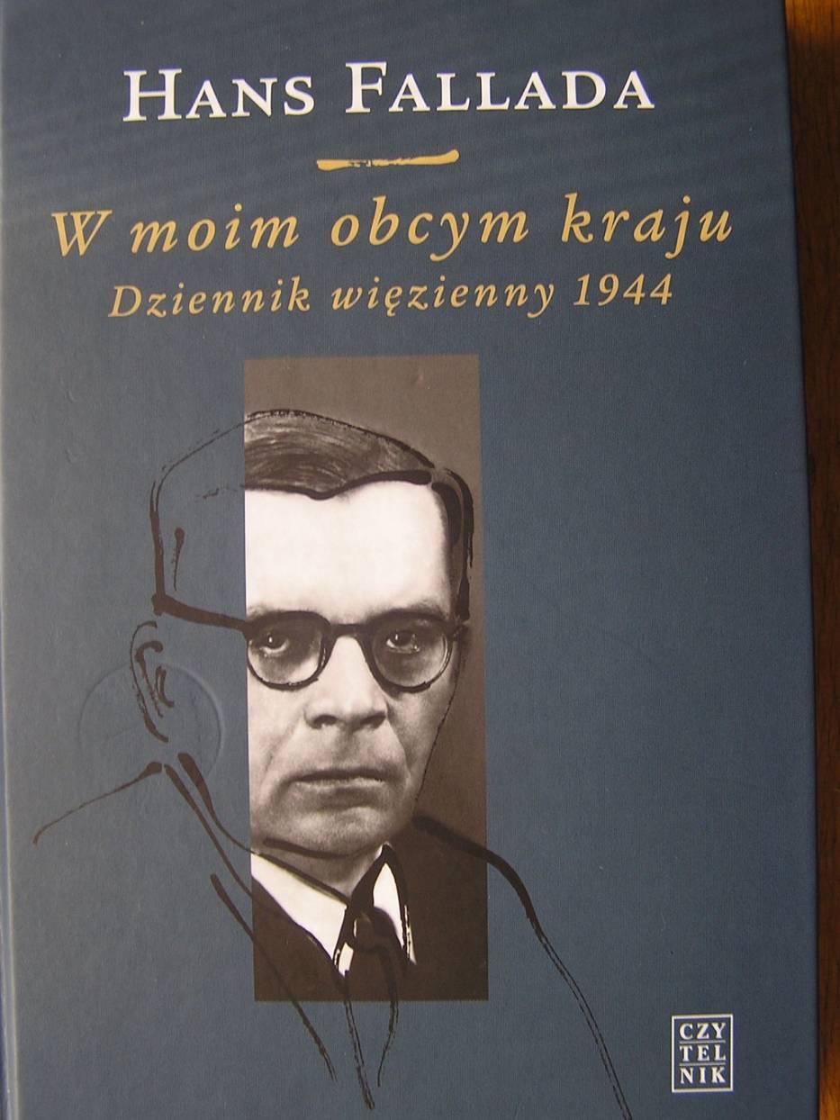 """Okładka książki """"W moim obcym kraju Dziennik więzienny 1944"""""""