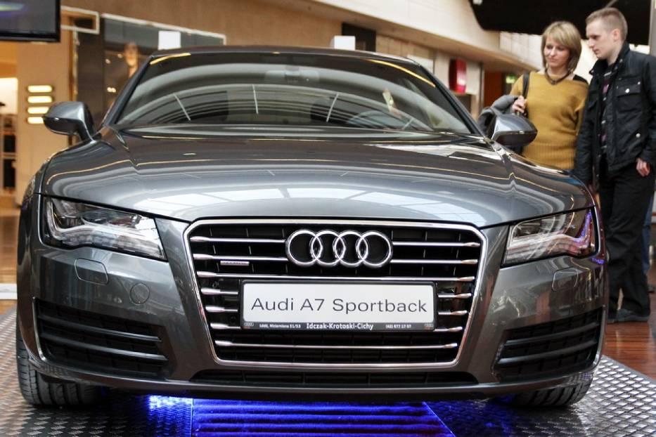 Auto Radar MMki - Audi A7 Sportback