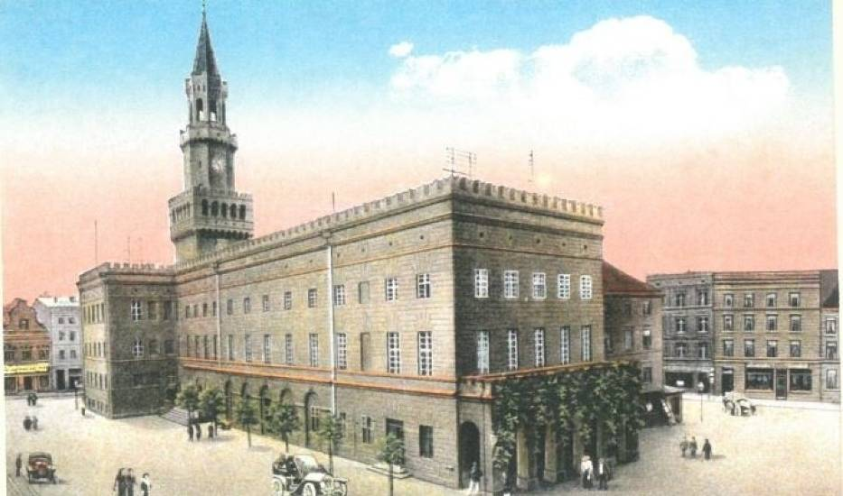 Oppeln - Rathaus, 1912 rok