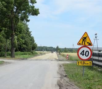 Przebudowa pasa drogowego, Droga powiatowa nr 2713P Łomnica - Nowy Dwór