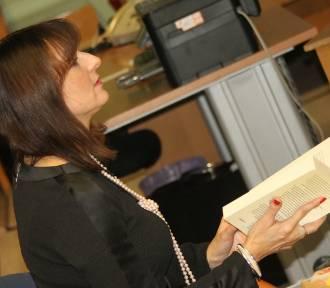 KROTOSZYN: Monika A. Oleksa gościła w bibliotece [ZDJĘCIA]