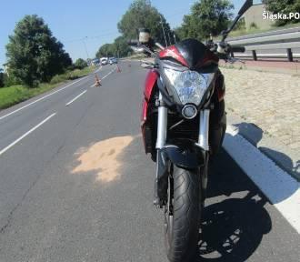 Sarnów: Wypadek motocyklisty na DK 86. Lądował helikopter LPR [ZDJĘCIA]