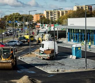 Budowa Lidla na Kapuściskach dobiega końca. Kiedy otwarcie sklepu? [zdjęcia]