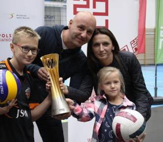 Spotkanie z mistrzem świata w siatkówce w Żorach [GALERIA]