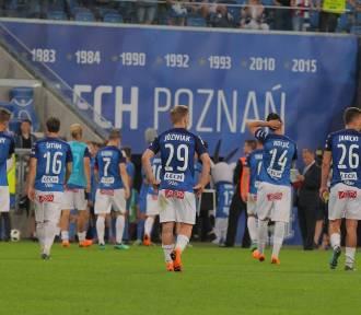 Lech Poznań - Jagiellonia Białystok 0:2. Kolejorz przegrał tytuł [ZDJĘCIA]
