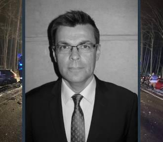 Tragiczny wypadek w Borczu - jedną z ofiar dziennikarz TVP3 Piotr Świąc