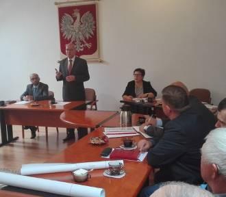 KOŹMIN: Burmistrz po raz ostatni w kadencji spotkał się z sołtysami