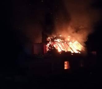 Pożar budynku pod Wrocławiem. Gdzie się paliło?[ZDJĘCIA]
