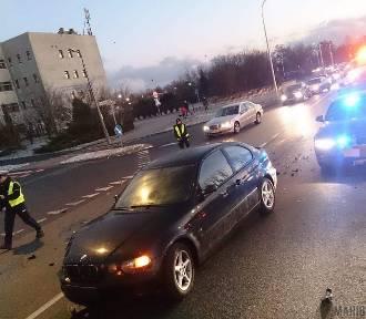 Wypadek w Opolu. Seat zderzył się z BMW [ZDJĘCIA]