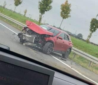 Wypadek na S8. Kierowcy informują o utrudnieniach