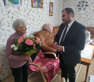 Mieszkanka Malechowa obchodziła 99 urodziny ZDJĘCIA