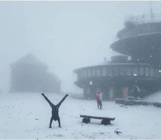Zobacz zimowy listopad w Karkonoszach [FILM, ZDJĘCIA]