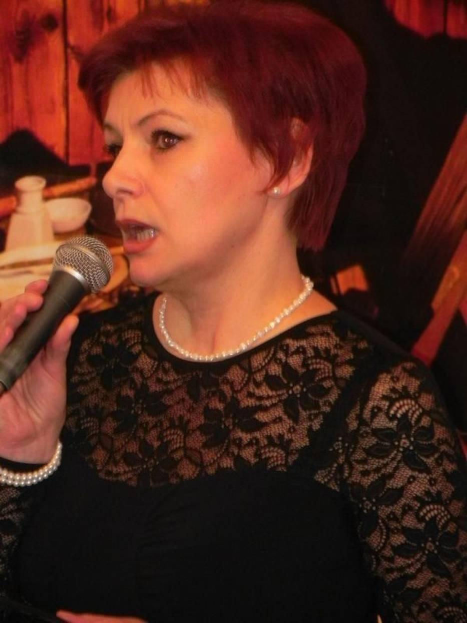 Honory gospodyni domu pełniła dyrektorka ostrowieckiego BWA, Jolanta Chwałek