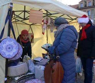Na sandomierskim Rynku zapachniało świętami Bożego Narodzenia