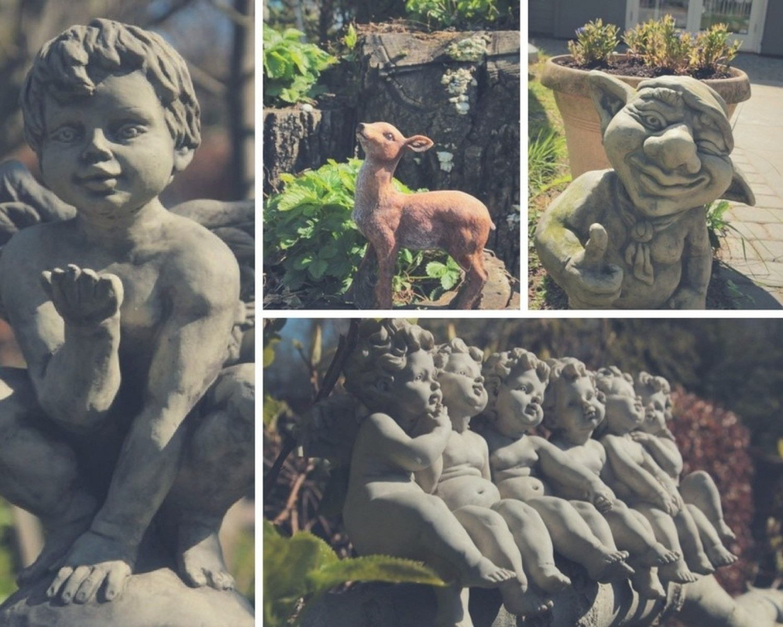 Rzeźby to jedna z podstawowych dekoracji ogrodowych, a jednocześnie najbardziej zróżnicowana grupa