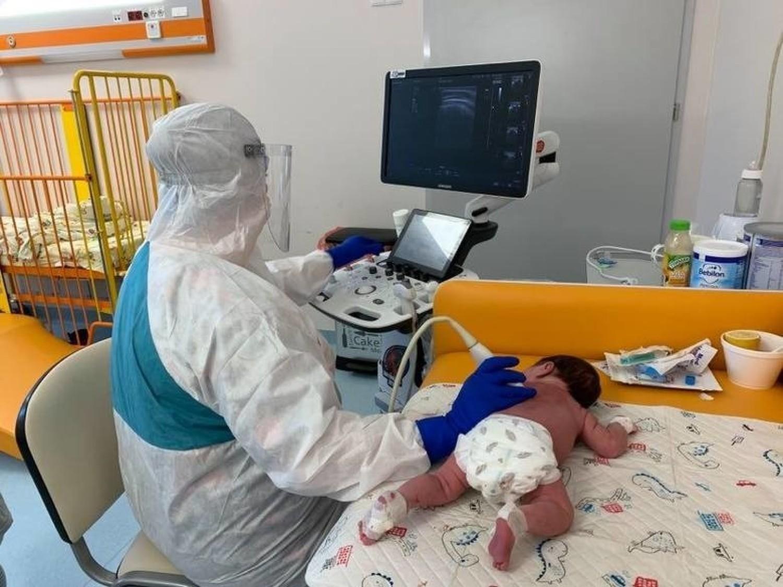 Dr Lidia Stopyra szefowa Oddziału Chorób Infekcyjnych i Pediatrii Szpitala im