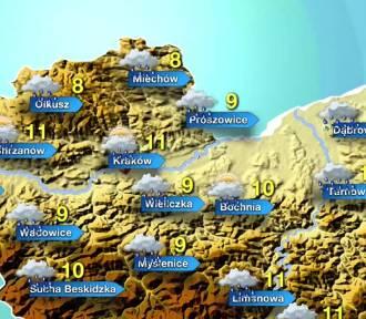Pogoda na czwartek, 14 listopada. Deszczowo