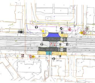 Nowe przejście dla pieszych na ul. Mickiewicza. Będzie bezpieczniej