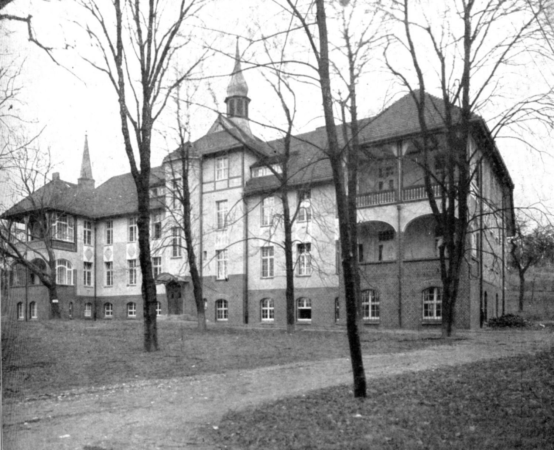 Szpital, lata dwudzieste XX wieku