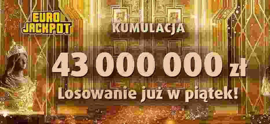 Eurojackpot Lotto wyniki 16.02.2018. Eurojackpot - losowanie na żywo i wyniki 16 lutego 2018