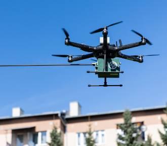Rzeszów i Boguchwała sprawdzą dronami jakość powietrza nad kominami [ZDJĘCIA]