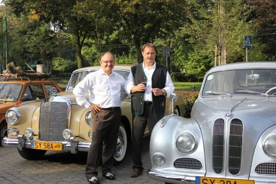 Zachodnioniemiecka produkcja, Mercedes 300 d oraz BMW 501 B