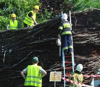 Nowy Tomyśl. Rozpoczął się remont największego kosza wiklinowego w Europie [ZDJĘCIA]