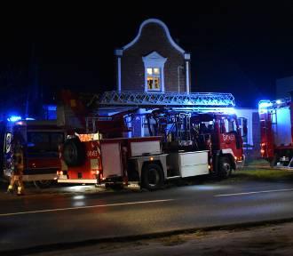 Pożar w mieszkaniu przy ulicy Poniatowskiego w Wolsztynie. Nie żyje mężczyzna