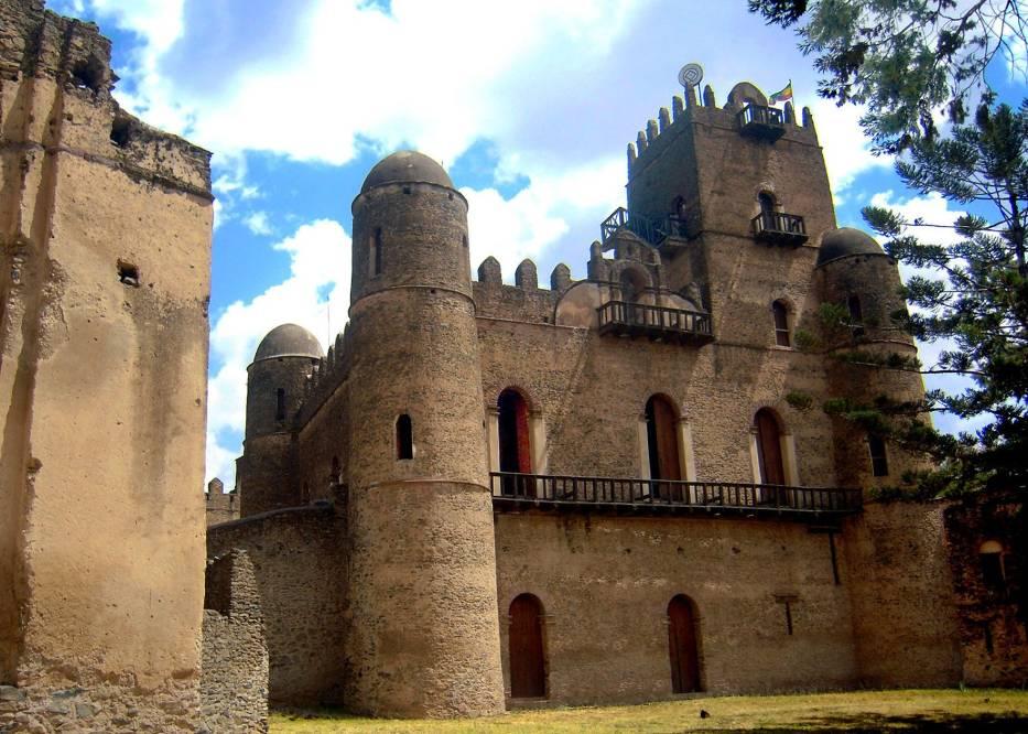 Cesarski Gonder Pałac