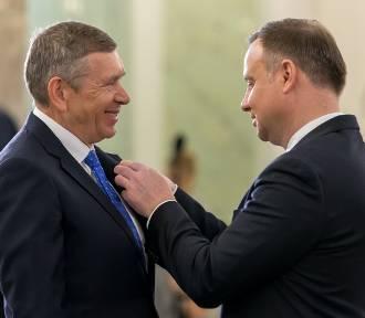 Właściciel Grupy Tubądzin odznaczony Medalem Stulecia Odzyskanej Niepodległości (ZDJĘCIA)