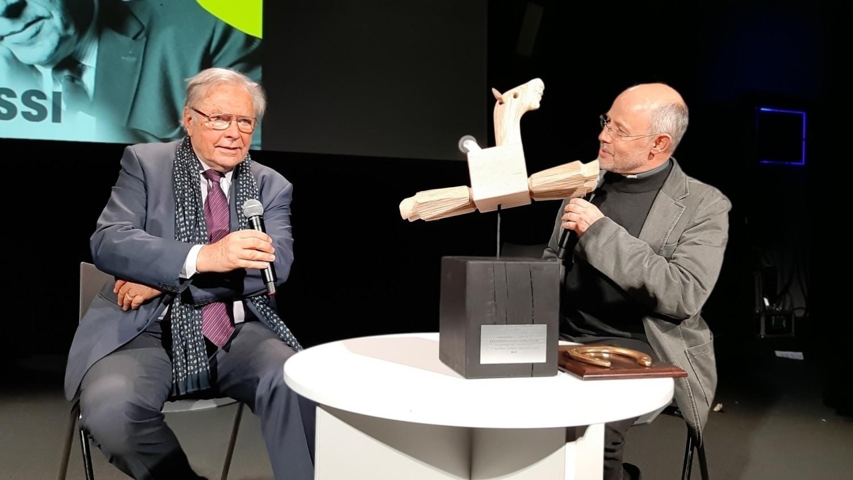 Krzysztof Zanussi odebrał Honorową Lamę w 2019 roku