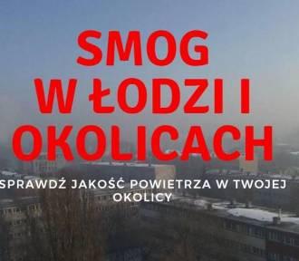 SMOG w Łodzi. Zobacz jakość powietrza w Łodzi i województwie