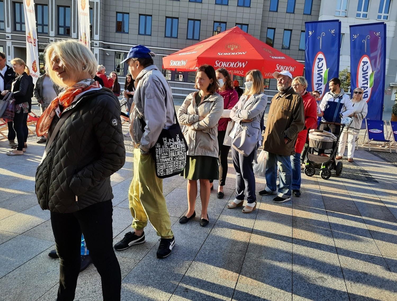 Śniadanie z Radiem Zet na Rynku Kościuszki w Białymstoku