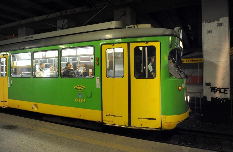 Trasa nocnego tramwaju zostanie zmieniona w nocy z 11 na 12 lutego
