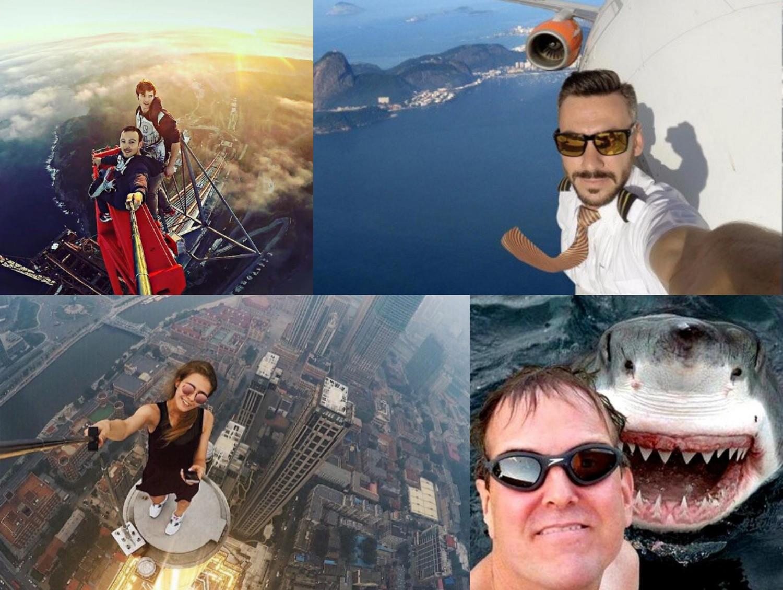 Selfie ludzi, którzy chcą w jakiś sposób wyróżnić się z tłumu często mrożą krew w żyłach