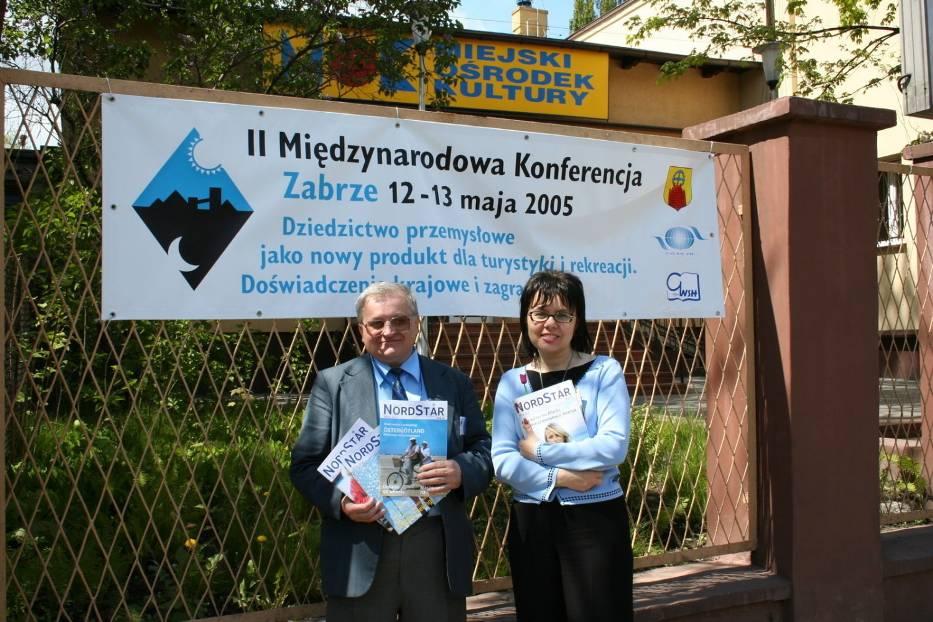 Historyczne zdjęcia - Pani Dorota Kosińska i autor
