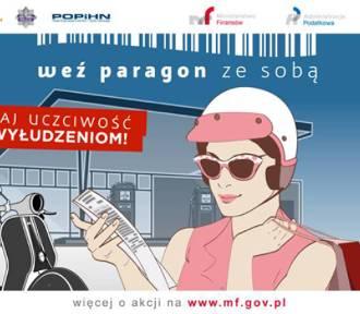 Weź paragon ze stacji benzynowej - akcja Ministerstwa Finansów