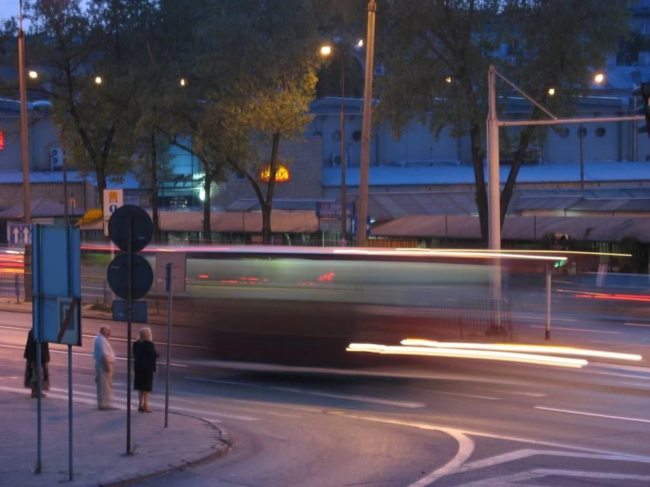 Autobusy tak sprawnie przemieszczające się to na razie sen fantastów