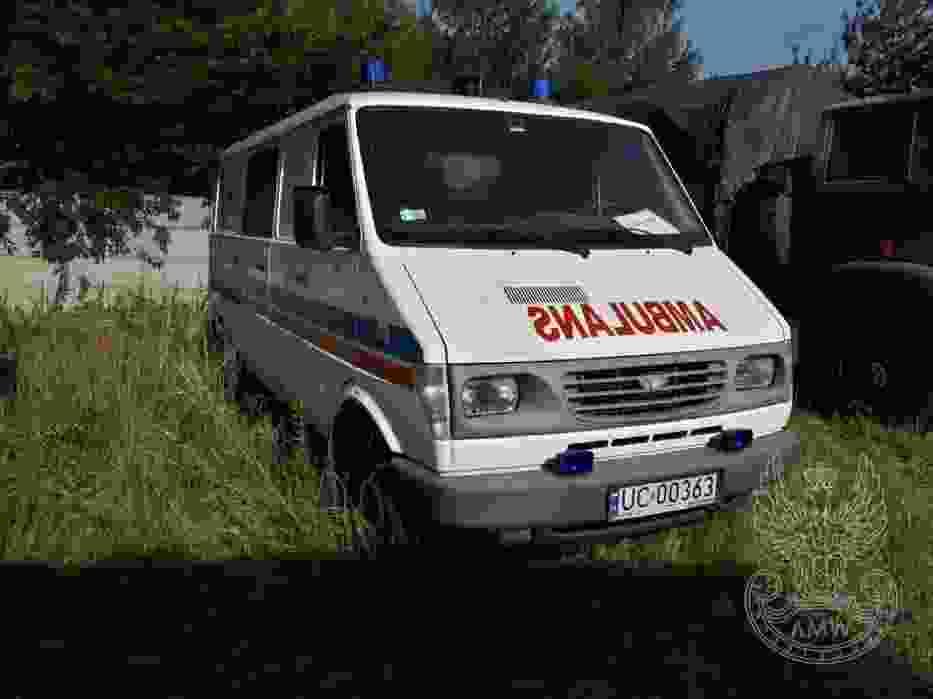 Samochód sanitarny DAEWOO-LUBLIN (bez wyposażenia)