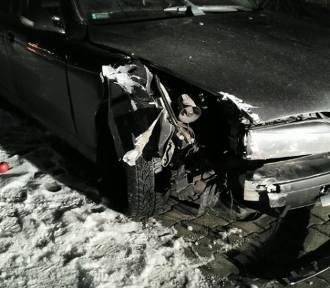 Był pijany i spowodował kolizję. Policjanci zatrzymali kierowcę po pościgu