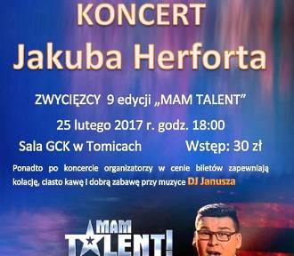 """Zwycięzca """"Mam Talent"""" zaśpiewa w Tomicach"""