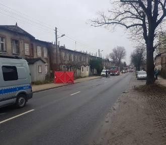 Śmiertelne potrącenie pieszej na ul.Małomiejskiej (zdjęcia)