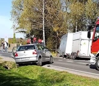Wypadek na DK 28 pod Wadowicami, są ranni